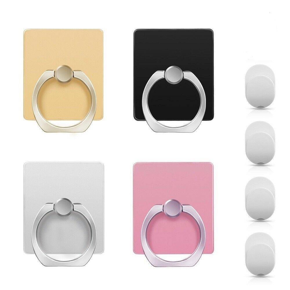 360° Universal Rotating Finger Ring Stand Holder For All Cell phone 4 Pack USA Cell Phone Accessories