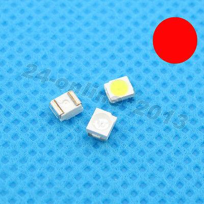 100pcs 3528 1210 Red Plcc-2 Super Bright Smd Smt Led Super Ultra Bright Light