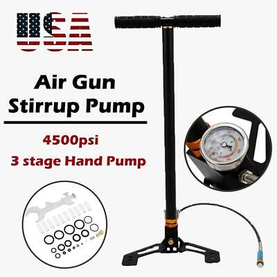 PCP Airgun Hand Pump High Pressure For Benjamin Hastan HPA 4500psi 30 MPA