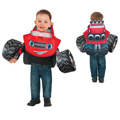 Toddler Blaze and the Monster Machines Truck Costume