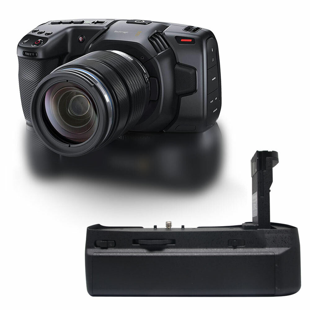 Mcoplus Vertical Multi Power Battery Grip For Blackmagic Cinema Camera Bmpcc4k6k Ebay