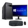 PC DESKTOP COMPUTER FISSO WINDOWS 10 RAM 4GB /HDD 500GB / WIFI + MONITOR 19