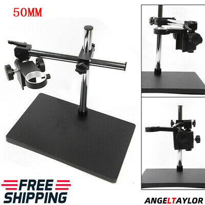 Microscope Holder Dual-arm Metal Boom Microscope Table Stand Support Best Sell