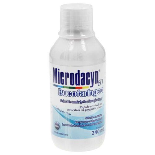 MICRODACYN OROPHARYNGEAL ANTISEPTIC CANKER SORES HERPES SIMPLEX CANDIDIASIS FLU