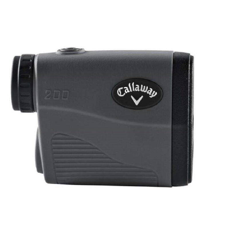 NEW Callaway 200 Golf Laser Rangefinder with P.A.T. & 6X Magnification Graphite