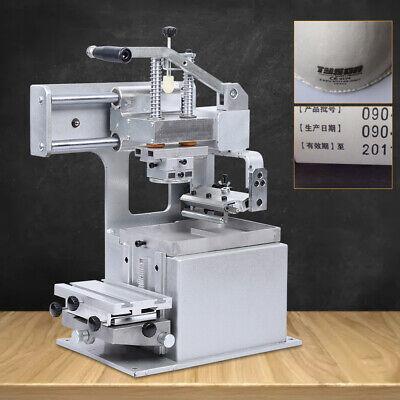 Manual Pad Printer Pad Printing Machine Transfer Sealed Ink Cup System 500pcs H