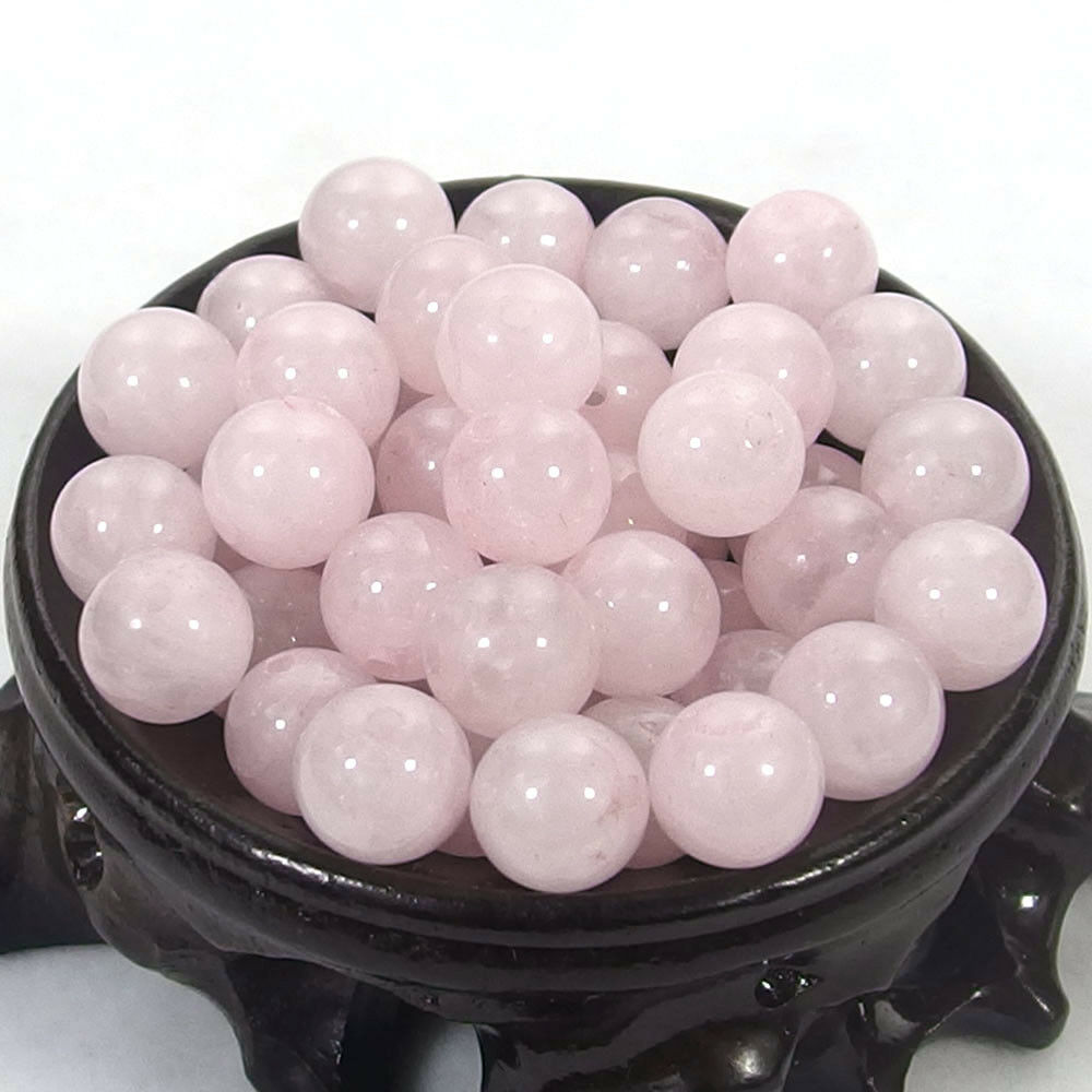 Bulk Gemstones I natural spacer stone beads 4mm 6mm 8mm 10mm 12mm jewelry design rose quartz