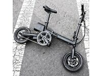 Brand New Compact Foldable Electric Bike / Folding Ebike Free test rides not Brompton Vintage Dahon