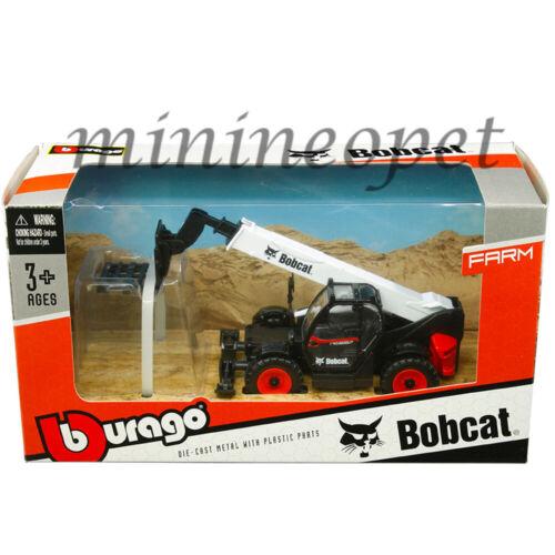 BBURAGO 32087 FARM BOBCAT T40 180SLP TELESCOPIC HANDLER with PALLET FORK 1/50