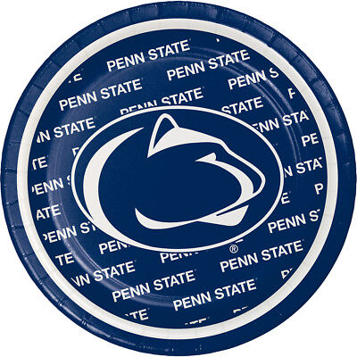 16 Penn State University Nittany Lions Lunch Plates 6.7/8