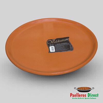 Spanish Terracotta Pizza Plate - 29cm Diameter