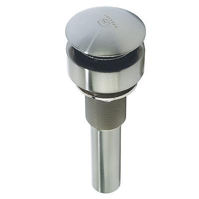 Drain System - DECOLAV Drain with Removable Mounting System in Satin Nickel # 9031-SN