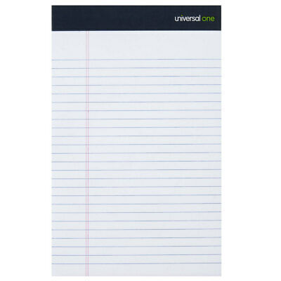 Universal 5 X 8 Lined Notepad - Narrow Ruled