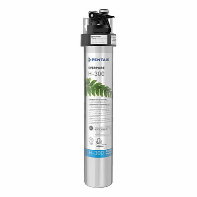 Pentair EverPure EV927076 H-300 125 PSI Compact Drinking Water Filtration
