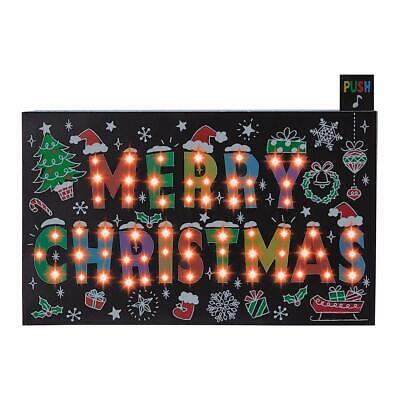 Merry Christmas Flashing Lights and Melody Pop Up Card / Christmas Card ()