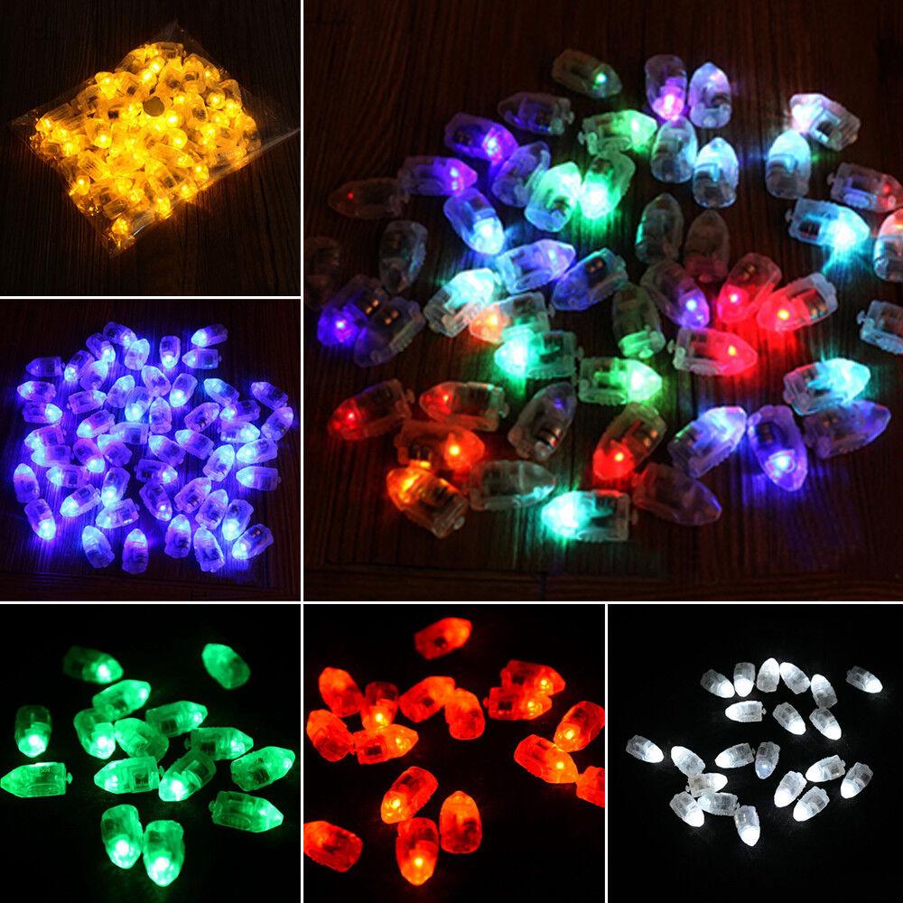 Mini Small LED Lamps Flash Balloon Light Lantern Christmas Wedding Party Decor