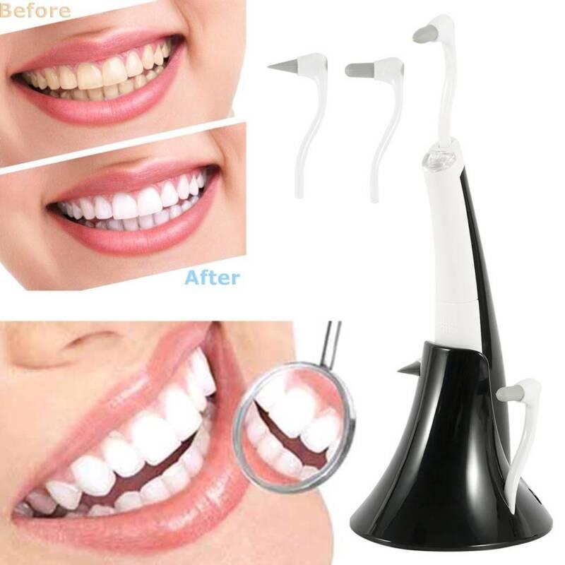 Elektrisch Premium Zahnsteinentferner Zahnreiniger 3 kopf Verknallt Polieren