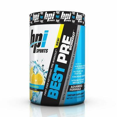 BPI Sports Ketogenic Pre-Workout Supplement - Best Pre-Workout - Carb-Free