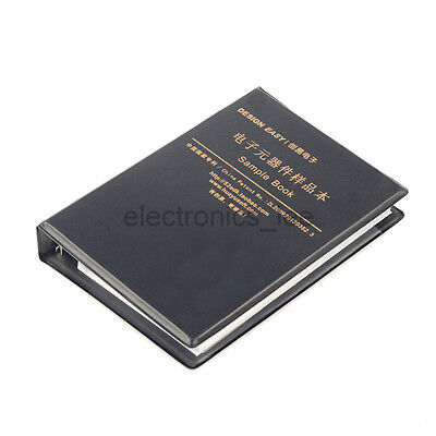0402 Smd Resistor Capacitor Sample Book