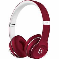 Beats by Dr. Dre Solo2 Red Luxe Edition Wired On Ear Headphones ML9G2AM/A
