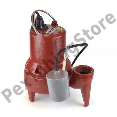 Automatic Sewage Pump W Float Switch 10 Cord 12 Hp 115v