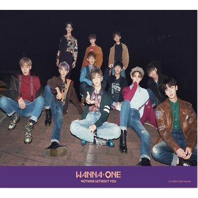 eldo WANNA ONE : 1-1=0 Nothing With You Purple  [OFFICIAL] POSTER