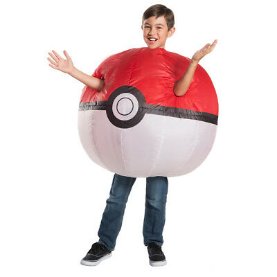 Pokemon Costumes Kids (Kids Pokemon Inflatable Poke Ball)