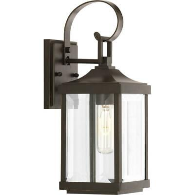 Antique Bronze Outdoor Wall Lantern (Outdoor Wall Lantern Gibbes Street Collection 1-Light Antique Bronze 15.1 in.  )