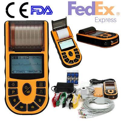 Usafda Digital 1 Channel Handheld Ecgekg Machine Ecg80a Usbsoftwareprinter