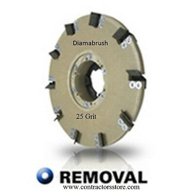Diamabrush 20 Concrete Coating Removal Tool 25 Grit