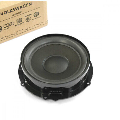 Original VW Caddy Touran Tieftonlautsprecher vorn passiv Lautsprecher Tür OEM