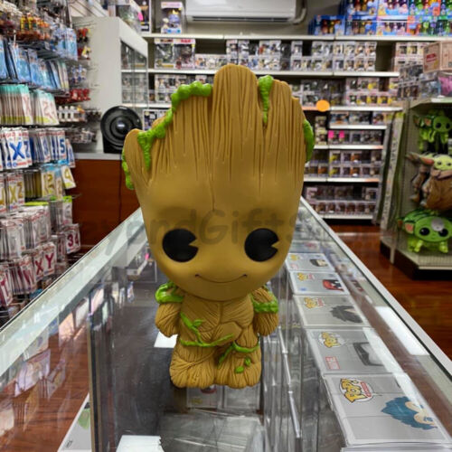 Groot PVC Bust Coin Bank 3D Toy Figure Piggy Coin Bank Collectible