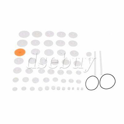 50pcs Plastic Bevel Gears Gearwheel Racks 0.5 Module Accessories Kits