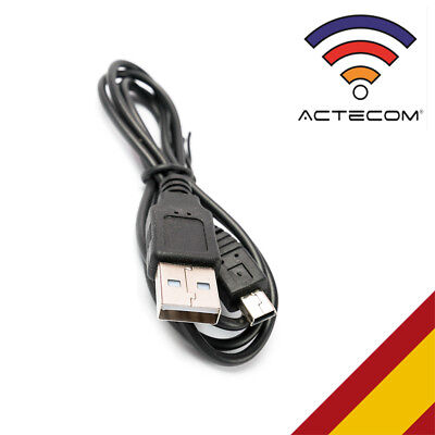 Cable Carga USB 2.0 a Mini USB 1metro Macho para MP3 Tablet...