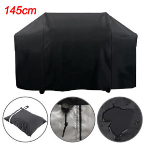 145cm BBQ Cover Heavy Duty Waterproofs Gas Barbecue Grills Outdoor Protector UK