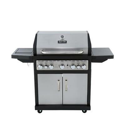 79,000 BTU 5-Burner Propane Gas Grill with Side Burner and R