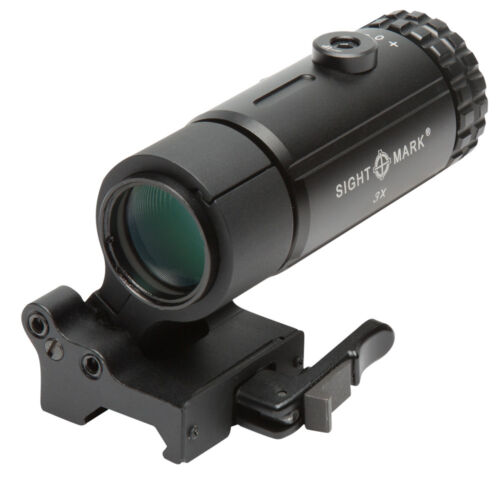 Sightmark T-3 Magnifier with Locking Quick Detach Flip to Side Mount SM19063