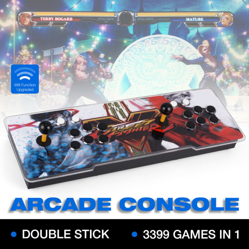 3D Pandora Box 11s HDMI Video 3399in1 Game Retro Arcade Console 2 Players RC1241