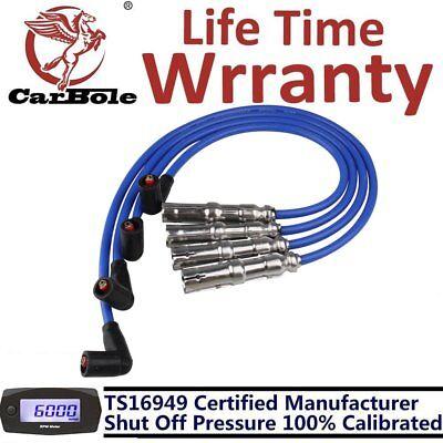 New 9mm Spark Plug Ignition Wire Set For VW Beetle Bora Golf GTI Jetta 2.0L SOHC Jetta Ignition Wire
