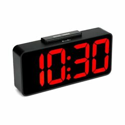 DreamSky Auto Time Set Alarm Clock With USB Port For Charging, Snooze, Dimmer