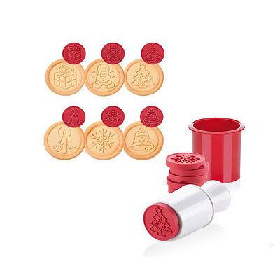 Imperdibile timbro per biscotti a pressione forma stampo decori natalizi novità