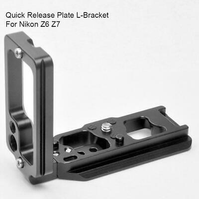US New Quick Release L Plate Bracket Holder Vertical Hand Grip for Nikon Z6 Z7