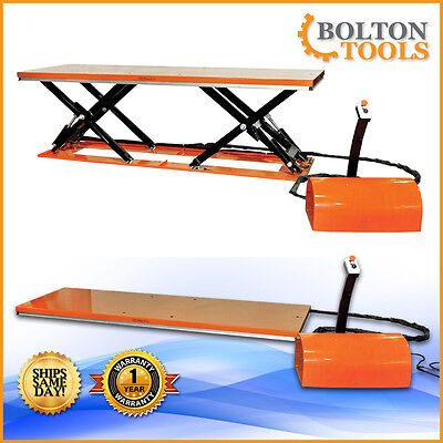 Material Handling Remote Control Electric Hydraulic Lift Table 3300 Lb Etyy1501