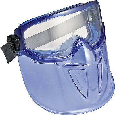 V90 Safety Goggles with Detachable Face Shield