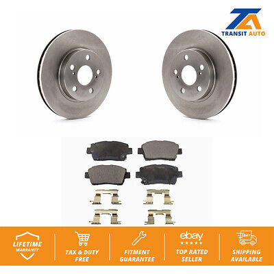 Front Disc Rotors & Semi-Metallic Brake Pads Fits 2000 Toyota Celica 2000 Toyota Celica Brake
