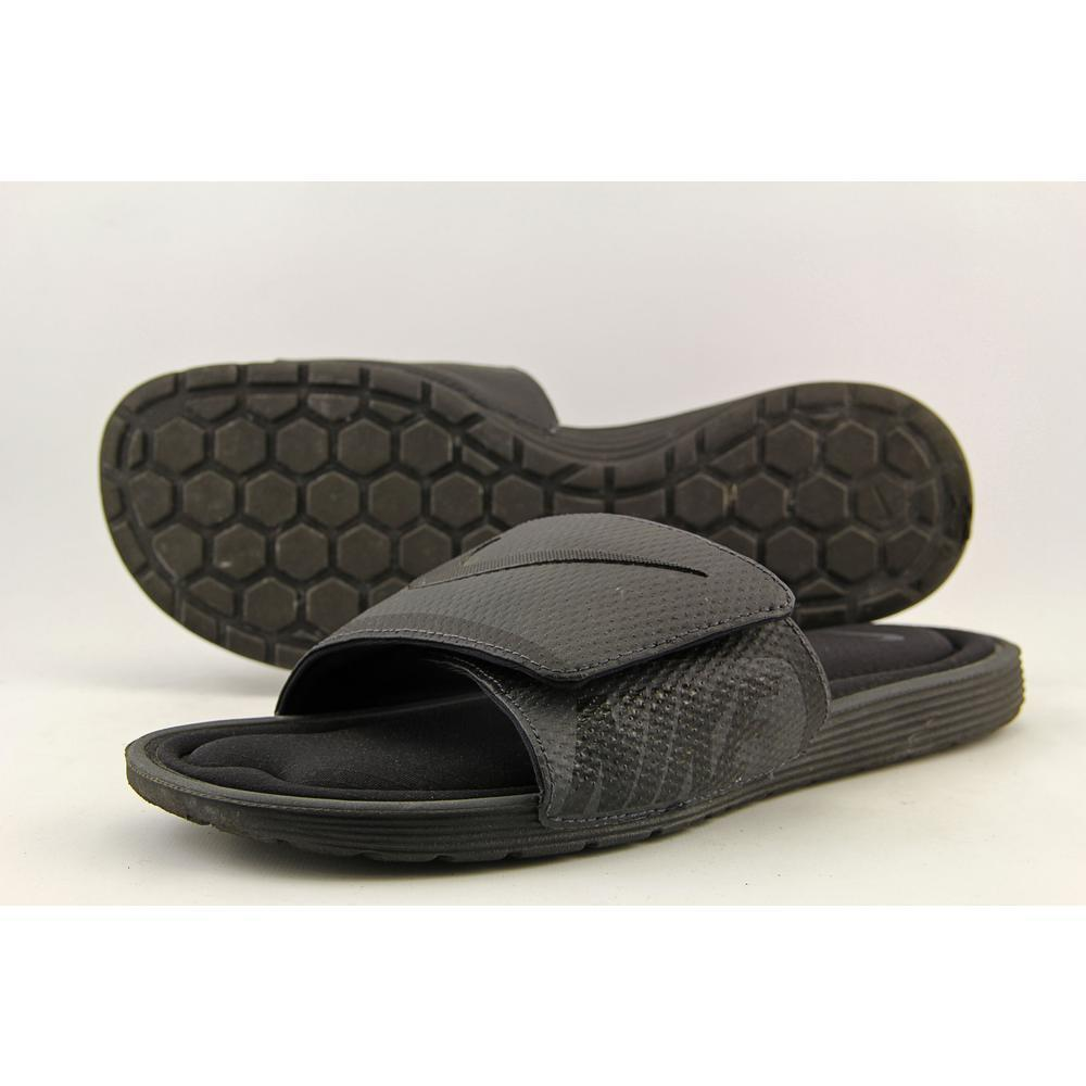 5e9e47b1f478 Nike Mens Solarsoft Comfort Slide Sandal Black anthracite 13 BM US for sale  online