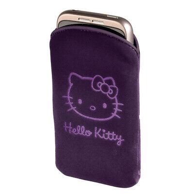 Hama Handy-Tasche Hello Kitty lila für iPhone 4/4S Universal Sleeve Hülle gebraucht kaufen  Deutschland