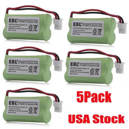 5 Cordless Home Phone Battery For AT&T VTech BT166342 BT266342 BT183342 BT283342