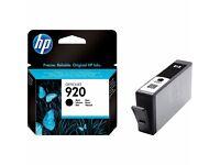 GENUINE HP 920 BLACK INK FOR SALE!!!
