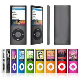 """16GB Slim 1.8"""" LCD Music MP3 MP4 Player WITH BUILT IN SPEAKER"""
